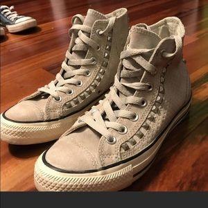 Women's Light Grey Converse